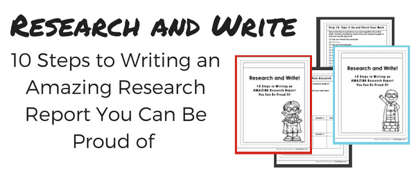 step by step instructions for writing research paper