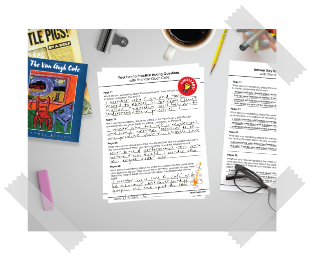 BookPagez Reading Comprehension Worksheets