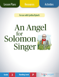 An Angel for Solomon Singer Lesson Plans, Resources, and Activities