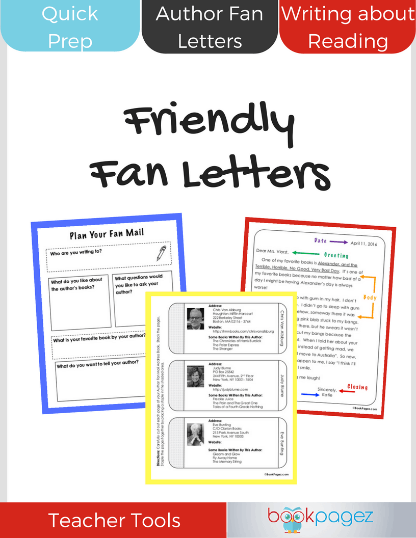 Friendly Fan Letters Cover