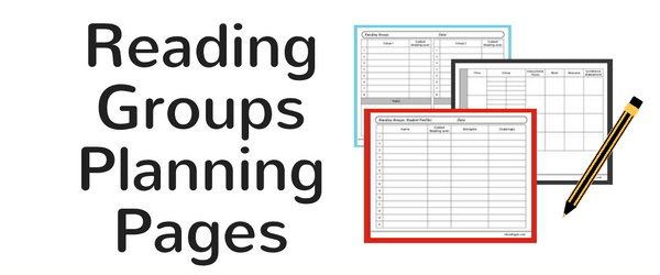 Header Reading Groups Planning Pages