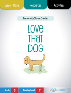 Love that Dog Lesson Plans, Resources, and Activities
