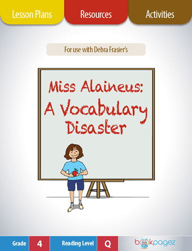 Miss Alaineus A Vocabulary Disaster Lesson Plans, Resources, and Activities