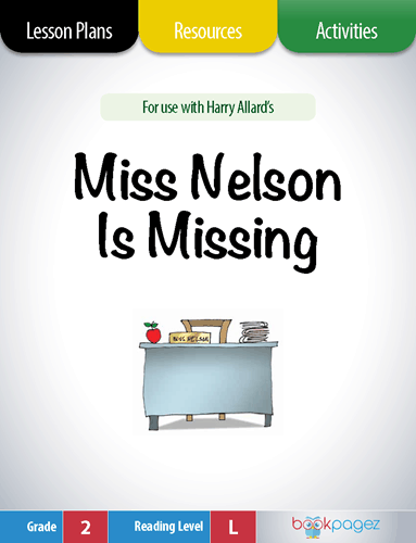Miss Nelson is Missing Lesson Plans, Resources, and Activities
