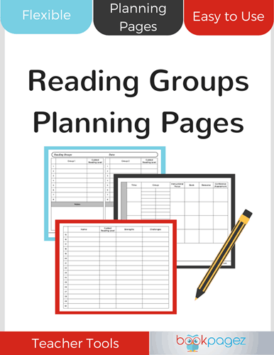Reading Groups Planning Pages Cover