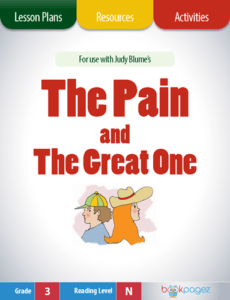 The Pain and The Great One Lesson Plans, Resources, and Activities