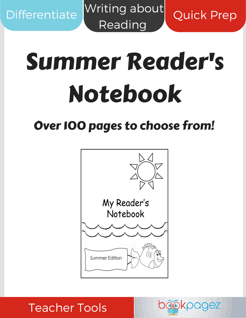 Summer Reader's Notebook