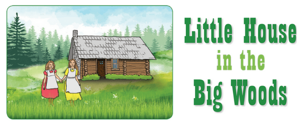 Little house in the big woods bookpagez for Little big house plans