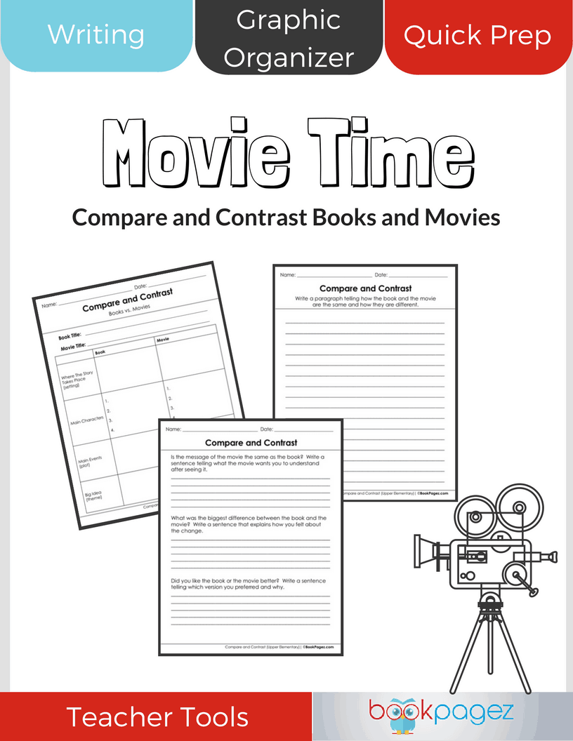 Compare and Contrast Books and Movies