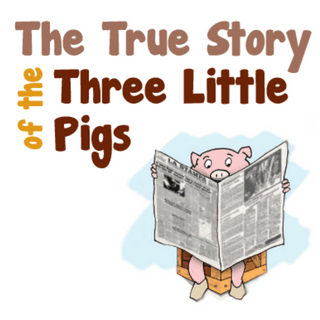 Plot Structure Diagram Three Little Pigs.The True Story Of The Three Little Pigs Bookpagez