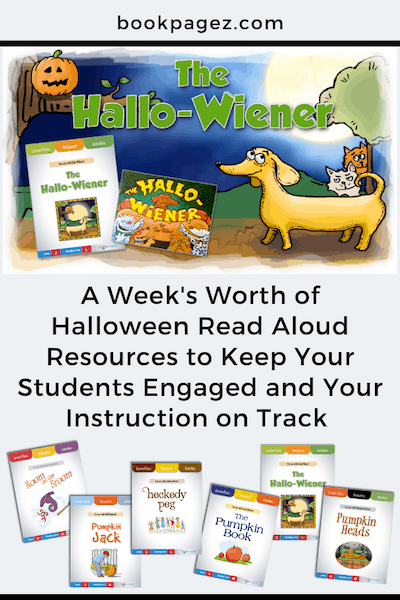 Halloween Read Aloud Mini Lessons